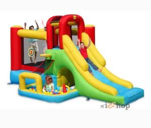 castello-gonfiabile-salterello-scivolo-piscina-palline